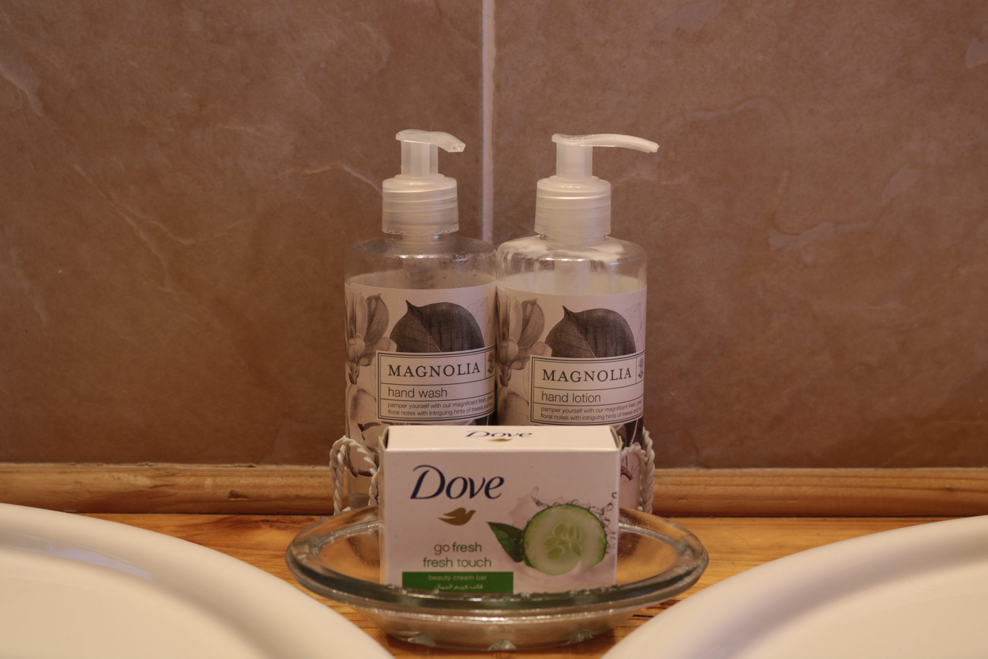 Soap and bathroom details
